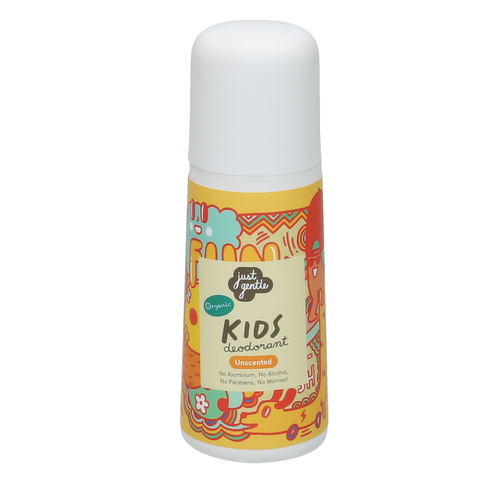 Just Gentle Organic Kids Deodorant - Unscented (60ml) - Organic Pavilion