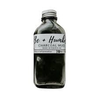 BE+Humble Charcoal  Mud Mask (100g) - Organic Pavilion