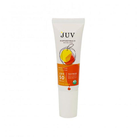JUV Matte-Fluid UV Protection SPF 50 PA++++ (8ml) - Organic Pavilion