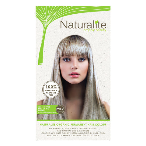 Naturalite Organic Permanent 90.2 Irisee Super Bleaching Blond Hair Colour (110ml) - Organic Pavilion