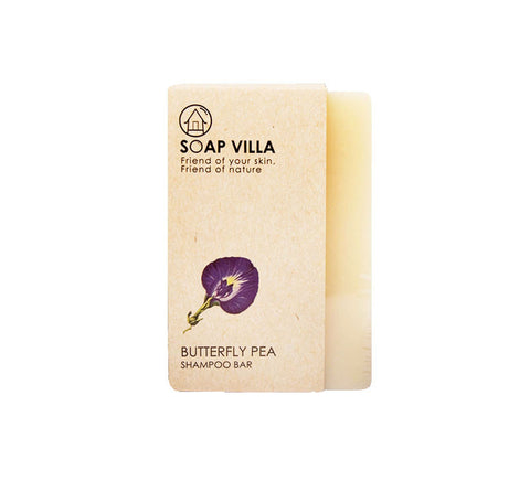 Soap Villa Natural Shampoo Bar Butterfly Pea (100gm)