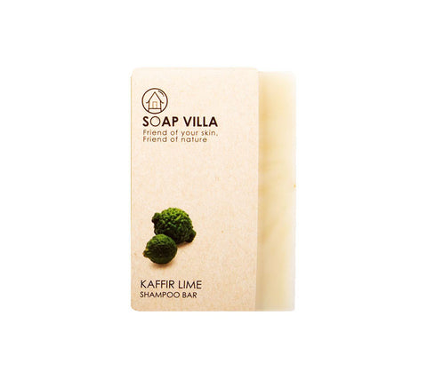 Soap Villa Natural Shampoo Bar Kaffir Lime (100gm) - Organic Pavilion