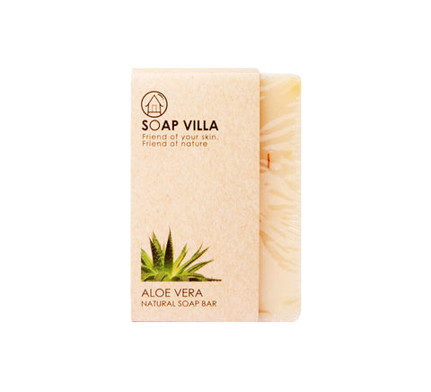 Soap Villa Natural Soap Bar Aloe Vera (100gm)