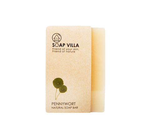 Soap Villa Natural Soap Bar Pennywort (100gm) - Organic Pavilion