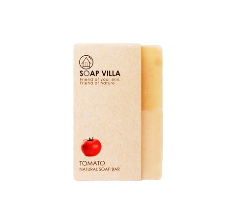 Soap Villa Natural Soap Bar Tomato (100gm)