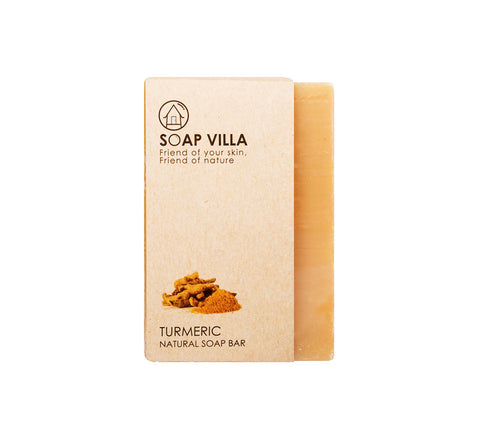 Soap Villa Natural Soap Bar Turmeric (100gm) - Organic Pavilion