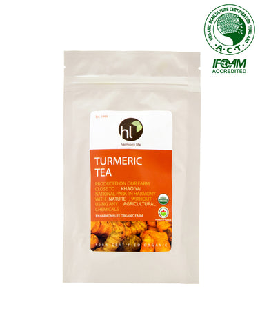 Harmony Life Organic Turmeric Herbal Tea 12 Teabags (32gm)