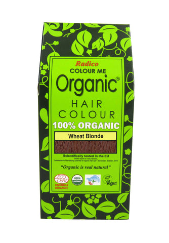 Radico Colour Me Organic Hair Wheat Blonde (100gm)