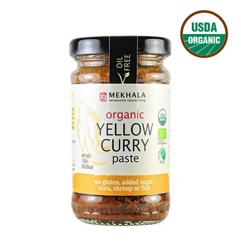Mekhala Organic Yellow Curry Paste (100gm)