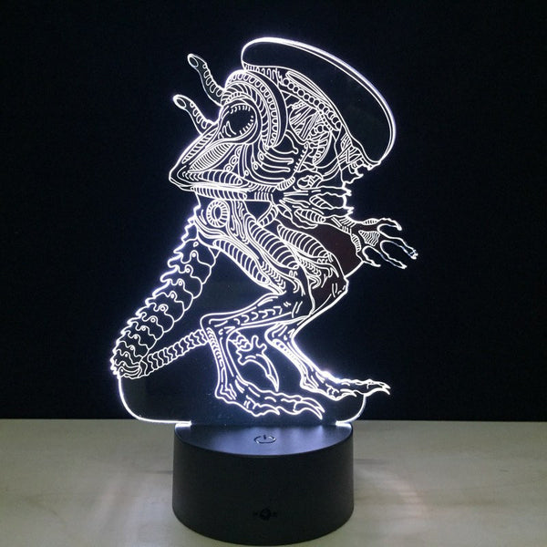 Lampada - Alien | Lampada Multicolore A LED