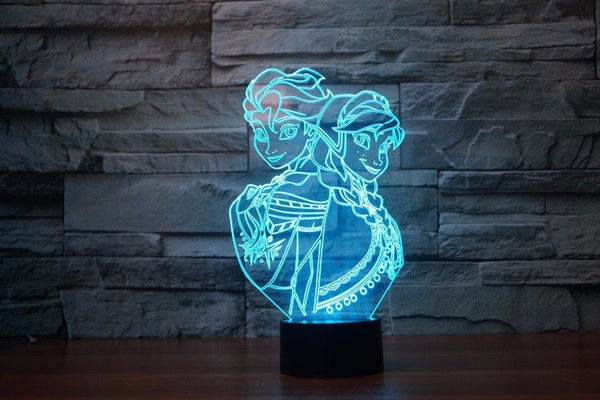 Lampada - Frozen | Lampada Multicolore A LED