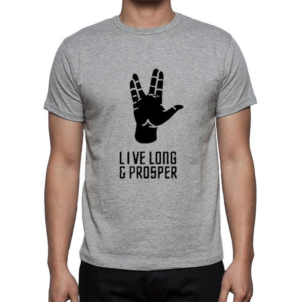 T-shirt - Star Trek | Maglia | Live Long And Prosper