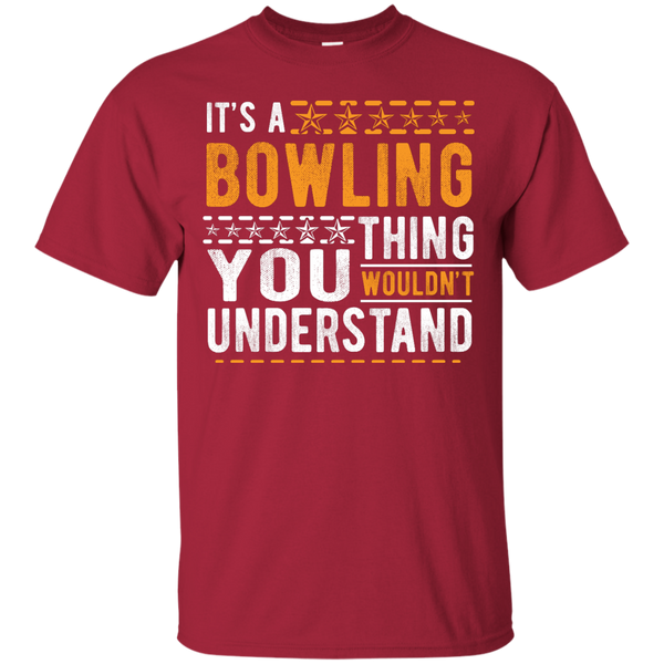 Cardinal Tshirt - It's A Bowling Thing You Wouldn't Understand - by BowlBusters