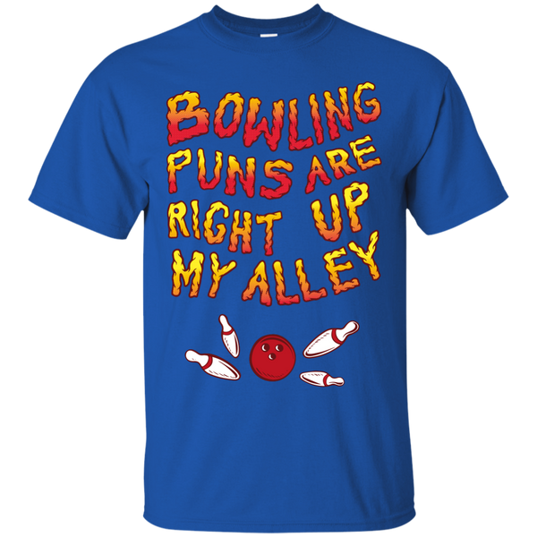 Royal Bowling Puns Are Right Up My Alley T-Shirt by BowlBusters