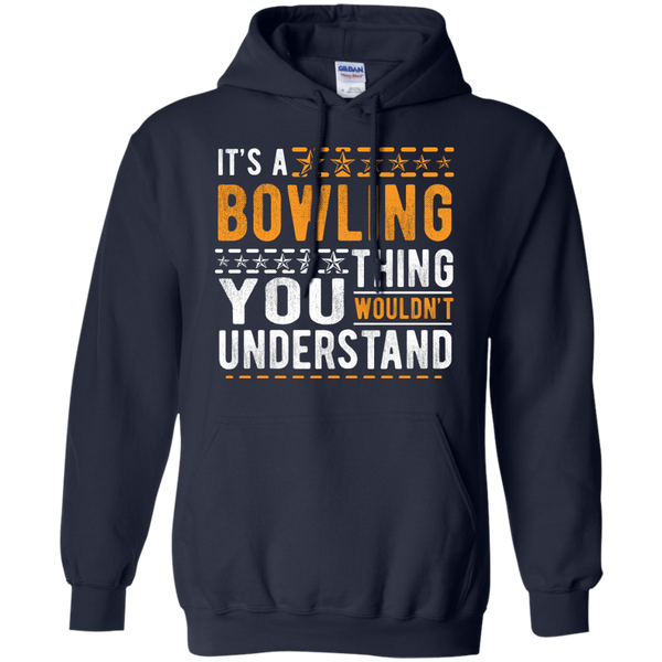 Navy Bowling Hoodie - It's A Bowling Thing You Wouldn't Understand - by BowlBusters