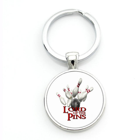 Modern Bowling Keychain - Lord Of The Pins - Bowl Busters