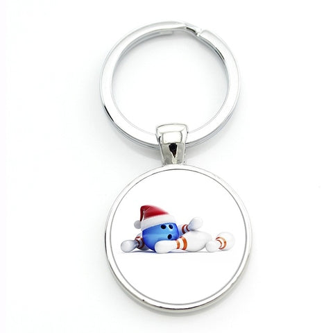 Modern Bowling Keychain - Christmas - Bowl Busters