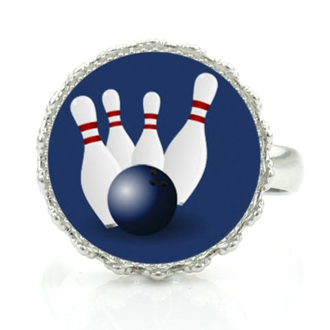 Bowling Ring - Blue - Bowl Busters