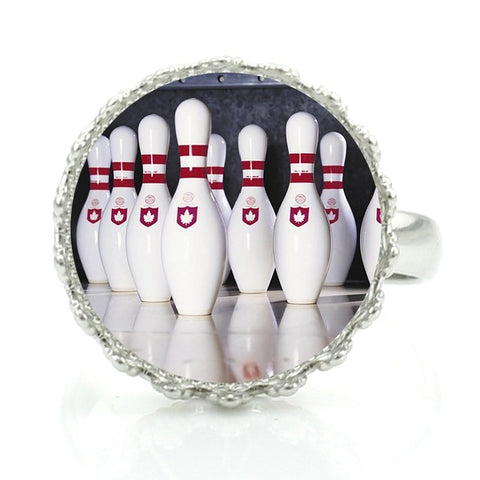 Bowling Ring - Pins - Bowl Busters