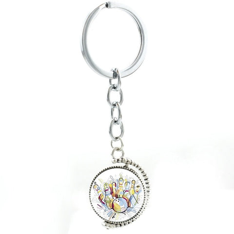 Bowling Keychain - Color Splash - Bowl Busters