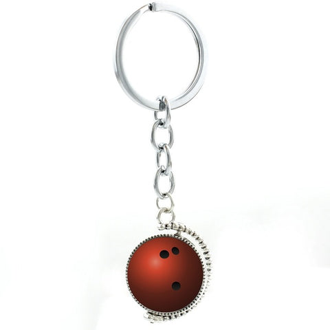 Bowling Keychain - Red Ball - Bowl Busters