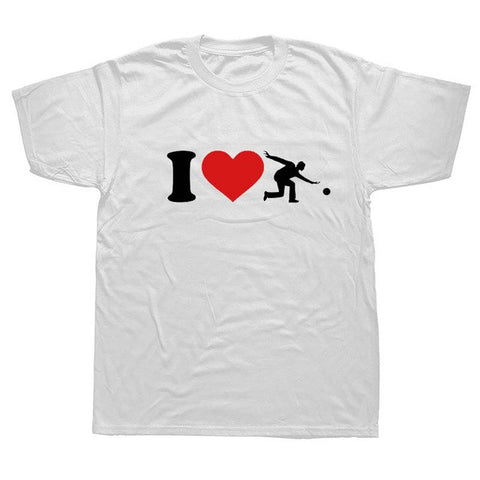 I Love Bowling T Shirt - Bowl Busters