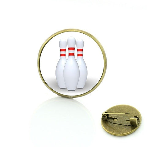Bowling Badge - 3 Pins - Bowl Busters