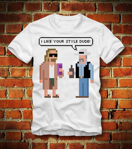 Bowling Tee - I Like Your Style Dude - Bowl Busters
