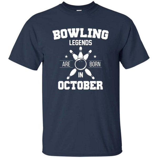 Bowlinger October Happy Birthday Shirt - Bowl Busters