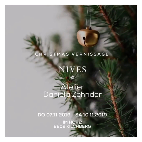 CHRISTMAS VERNISSAGE AT ATELIER DANIELA ZEHNDER
