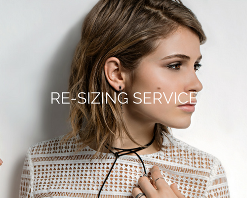 RE-SIZING SERVICE
