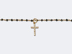 DIAMOND CROSS PENDANT- SIZE S - NIVES