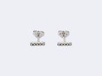 DIAMOND BAR STUDS - NIVES