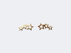 TINY THREE STAR STUDS - NIVES
