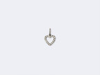 HEART CUT OUT PENDANT - DIAMOND - SIZE S - NIVES