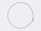 ROSARY NECKLACE IN BLACK DIAMOND - NIVES