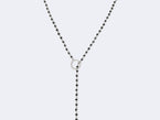 ROSARY LARIAT NECKLACE NO. 1 - NIVES