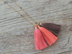 TASSEL LIGHT YELLOW GOLD RING - SIZE 2 - NIVES