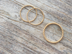 SALE/ SAMPLE SALE - TWIST RING - NIVES