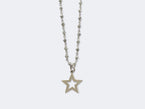 KATE - STAR CUT OUT S PENDANT - NIVES