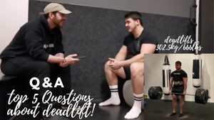 bear eats tiger beareatstiger deadlift most asked questions Q&A deadlifting Olivier Vervalle Vincent De Buysscher