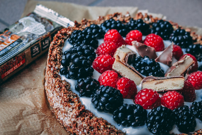 Protein fruit tart