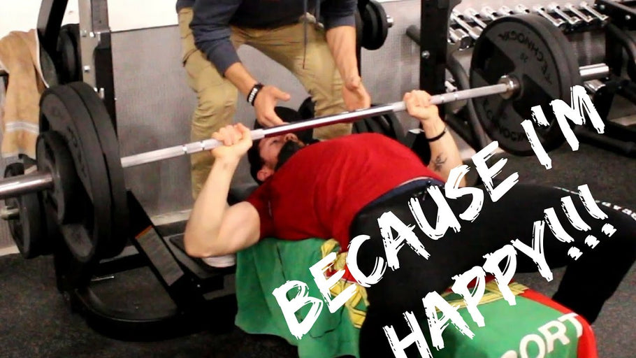 How to make someone happy: mail | bench press | vlog 3