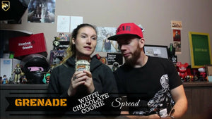 GRENADE White Chocolate Cookie Spread Review | Bear Eats Tiger