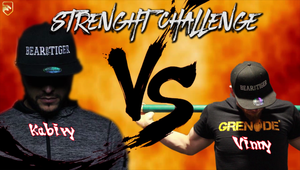 Strength Challenge Gibraeel The Mind Kabiry VS Vinny Bear | Deadlift | Bear Eats Tiger