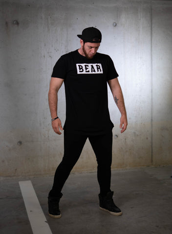 Bear Eats Tiger tshirt and hoodie new BEAR collection limited edition belgian sports clothing brand