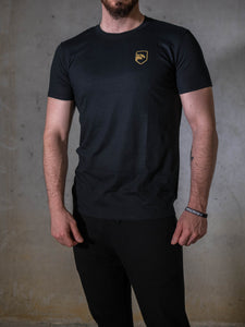 Black & Gold Men's Tshirt