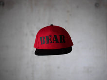 Snapback BEAR Red & Black