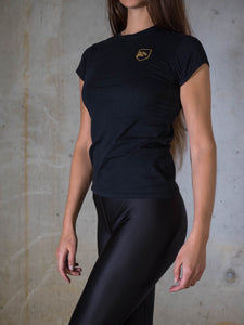 Black & Gold Women's Tshirt