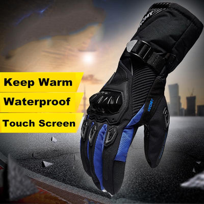 Touchscreen Motor Gloves - Motorcycle Lab